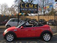 2015 MINI ROADSTER 1.6 COOPER S 2d 181 BHP £10000.00