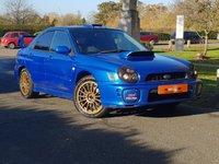 2001 SUBARU IMPREZA 2.0 WRX TURBO 4d 224 BHP £2490.00