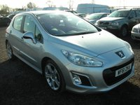 USED 2011 61 PEUGEOT 308 1.6 E-HDI ALLURE 5d 112 BHP Panoramic roof - 1 owner - Low tax