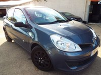 USED 2006 06 RENAULT CLIO 1.6 EXPRESSION 16V 3d 111 BHP