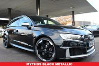 USED 2015 65 AUDI A3 2.5 RS3 SPORTBACK QUATTRO 5d AUTO 362 BHP