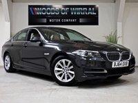 2014 BMW 5 SERIES 2.0 520D SE 4d AUTO 188 BHP £11680.00