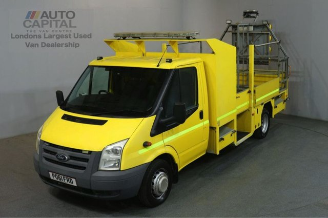 2011 61 FORD TRANSIT 2.4 350 LWB 115 BHP TWIN WHEEL DROPSIDE LORRY REAR BED LENGTH 12 FOOT & 2 IN