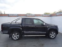 USED 2015 65 VOLKSWAGEN AMAROK 2.0 DC TDI ULTIMATE 4MOTION 1d AUTO 180 BHP VW AMAROK ULTIMATE EDITION CHROME BARS ALL ROUND