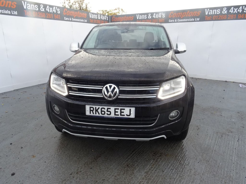2015 Volkswagen Amarok DC TDI Ultimate 4motion £18,795