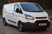 USED 2014 14 FORD TRANSIT CUSTOM 2.2 290 LR P/V 99 BHP