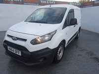USED 2014 64 FORD TRANSIT CONNECT 1.6 200 P/V 1d 94 BHP FORD CONNECT SWB NEW SHAPE