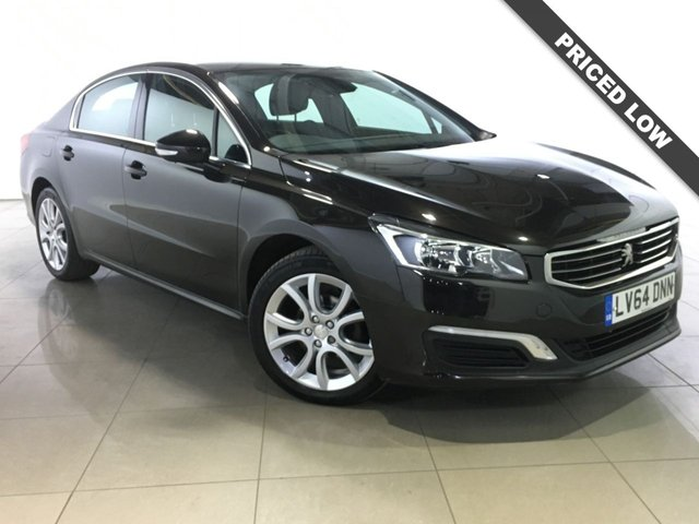 View our 2014 64 PEUGEOT 508 1.6 E-HDI ACTIVE 4d AUTO 115 BHP
