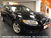 USED 2011 11 VOLVO V70  2.0D D3 SE DIESEL ESTATE 6 SPEED MANUAL UK DELIVERY* RAC APPROVED* FINANCE ARRANGED* PART EX