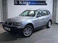 2006 BMW X3 2.0 D SE 5dr 4x4 £3790.00