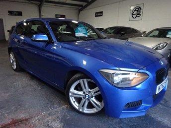 2012 BMW 1 SERIES 2.0 118D M SPORT 3d 141 BHP £9495.00