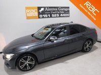 USED 2014 14 BMW 3 SERIES 2.0 316D ES 4d 114 BHP AMAZING CAR WITH AMAZING SPEC, FINISHED IN GLEAMING METALLIC GRAY, FULL SERVICE HISTORY  ,THIS CAR IS A GREAT EXAMPLE OF A PRESTIGE SALOON, IT COMES WITH SOME GREAT SPEC, BLUETOOTH PHONE AND MUSIC PREP, AUX AND USB POINTS, SPORTS /ECO MODES, MULTI FUNCTION LEATHER CLAD STEERING WHEEL, STOP START, PRIVACY GLASS, DAB CD RADIO, ELEC MIRRORS, ELEC WINDOWS, CRUSE CONTROL, MOBIL SAT NAV