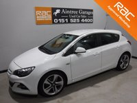 USED 2014 14 VAUXHALL ASTRA 1.6 LIMITED EDITION CDTI ECOFLEX S/S 5d 108 BHP BEAUTIFUL CAR FINISHED IN GLEAMING WHITE FOR A REAL SPORTY LOOK, THERE HAS BEEN NO EXPENSE SPARED IN THE UP KEEP OF THIS VEHICLE WITH FULL DEALER SERVICE HISTORY,COMES WITH SOME AMAZING SPEC WHICH INCLUDES, FULL LEATHER INTERIOR,  CRUSE CONTROL, DUAL CLIMATE CONTROL TO LIST BUT A FEW.