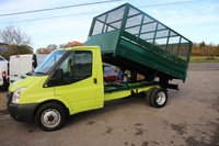 2012 FORD TRANSIT 2.2 350 DRW 1d 99 BHP Cage Tipper £10495.00