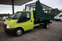 USED 2012 12 FORD TRANSIT 2.2 350 DRW 1d 99 BHP Cage Tipper
