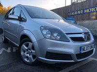 USED 2007 07 VAUXHALL ZAFIRA 1.8 CLUB 16V 5d 140 BHP GREAT FAMILY CAR