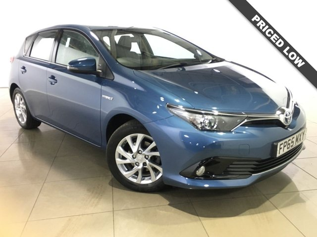 View our 2015 65 TOYOTA AURIS 1.8 VVT-I BUSINESS EDITION 5d AUTO 99 BHP