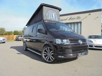 2016 VOLKSWAGEN T6 CAMPERVAN BRAND NEW 4 BERTH CAMPER CONVERSION 2.0 T30 TDI P/V HIGHLINE BMT  £39995.00