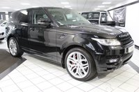 2015 LAND ROVER RANGE ROVER SPORT 4.4 SDV8 AUTOBIOGRAPHY DYNAMIC AUTO 339 BHP £44950.00