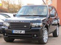 2012 LAND ROVER RANGE ROVER 4.4 TDV8 VOGUE SE 5d AUTO 313 BHP £19995.00