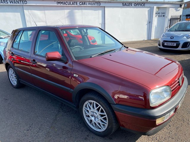 USED 1994 M VOLKSWAGEN GOLF 2.8 VR6 5d 172 BHP VERY LOW MILEAGE FUTURE CLASSIC