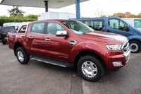 USED 2016 16 FORD RANGER 2.2 LIMITED 4X4 DCB TDCI 1d 158 BHP NEW SHAPE DOUBLE CAB PICKUP
