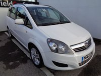 USED 2013 63 VAUXHALL ZAFIRA 1.7 EXCLUSIV CDTI ECOFLEX 5d 108 BHP AIR CON 7 SEATS ELECTRIC WINDOWS 6 SPEED CD AUDIO
