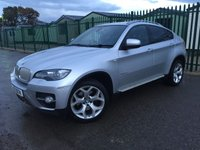 2010 BMW X6 3.0 XDRIVE35D 4d AUTO 282 BHP SAT NAV LEATHER SIDE STEPS FSH £16790.00