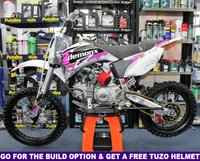 USED 2019 STOMP SUPERSTOMP DEMON X 170 - PIT BIKE All New for 2019, FREE Helmet With Build & Warranty Option