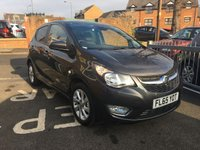 USED 2015 65 VAUXHALL VIVA 1.0 SL 5d 74 BHP ONLY 9064 MILES AND FULL HISTORY! CHEAP TO RUN ,LOW CO2 EMISSIONS, £20 ROAD TAX AND EXCELLENT FUEL ECONOMY!  GOOD SPECIFICATION INCLUDING LEATHER , ALLOY WHEELS, CLIMATE CONTROL, PARKING SENSORS, AND AUXILLIARY INPUT/USB!