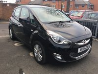 USED 2015 15 HYUNDAI IX20 1.6 ACTIVE 5d AUTO 123 BHP AUTOMATIC WITH FULL HISTORY! HYUNDAI WARRANTY TO 20/04/2020! CHEAP TO RUN, LOW CO2 EMISSIONS AND EXCELLENT FUEL ECONOMY! GOOD SPECIFICATION INCLUDING PARKING SENSORS, ALLOY WHEELS, AUXILLIARY INPUT/MEDIA  AND AIR CONDITIONING! ONLY 10392 MILES AND FULL HISTORY!