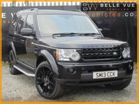 USED 2013 13 LAND ROVER DISCOVERY 3.0 4 SDV6 XS 5d AUTO 255 BHP *ALL BLACK, ONE OWNER*
