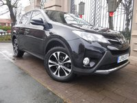 USED 2015 15 TOYOTA RAV4 2.2 D-4D ICON 5d AUTO 150 BHP AWD FINANCE ARRANGED***PART EXCHANGE WELCOME***1 OWNER***4WD***BLUETOOTH***DAB***USB***AUX***REVERSING CAMERA