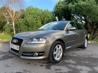 USED 2012 62 AUDI A3 2.0 SPORTBACK TDI SE S/S 5d 168 BHP NICE CAR WITH FSH, SAT NAV, TOW BAR, GREAT CONDITION, READY TO GO!!!!