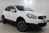 USED 2012 12 NISSAN QASHQAI 1.6 N-TEC 5DR 117 BHP SAT NAV SERVICE HISTORY + SATELLITE NAVIGATION + REVERSE CAMERA + PANORAMIC ROOF + BLUETOOTH + CRUISE CONTROL + CLIMATE CONTROL + MULTI FUNCTION WHEEL + 18 INCH ALLOY WHEELS