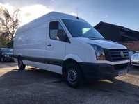 2015 VOLKSWAGEN CRAFTER 2.0 CR35 TDI HIGH ROOF LWB P/V 135 BHP £6450.00