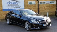 2011 MERCEDES-BENZ E CLASS 2.1 E250 CDI BLUEEFFICIENCY SPORT 4d AUTO 204 BHP £8984.00