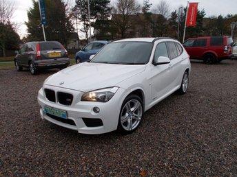 2014 BMW X1 2.0 SDRIVE20D M SPORT 5d 181 BHP £12995.00