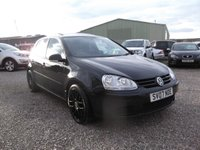 USED 2007 07 VOLKSWAGEN GOLF 1.9 MATCH TDI 5d 103 BHP ELECTRIC SUNROOF + A YEARS MOT