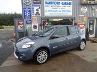 USED 2010 60 RENAULT CLIO 1.5 DYNAMIQUE TOMTOM DCI 5d 86 BHP ONLY 46K  SAT NAV  £30 a Year Road Tax