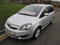 2013 VAUXHALL ZAFIRA 1.6 EXCLUSIV 5d 113 BHP £4999.00