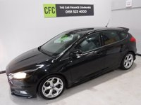 USED 2015 15 FORD FOCUS 2.0 ST-2 TDCI 5d 183 BHP TRULY AMAZING CAR , ONE OWNER SERVICE HISTORY, FINISHED IN GLEAMING BLACK THE CAR HAS SOME GREAT OPTIONS, LED DAY TIME LIGHTS, FULL ST PACK, BOOST GAUGES, ELE KEYLESS ENTREE,  HALF LEATHER RECARO SEATS,  18INCH UP GRADED ALLOYS, ELEC FOLDING MIRRORS BLUETOOTH PHONE PREP ,
