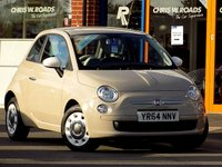 USED 2014 64 FIAT 500 1.2 COLOUR THERAPY 3dr ** Air Con + Low Tax **