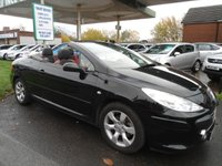 USED 2008 08 PEUGEOT 307 1.6 ALLURE COUPE CABRIOLET 2d 108 BHP RARE LOW MILES