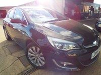 2016 VAUXHALL ASTRA 1.6 ELITE 5d AUTO 115 BHP £9795.00
