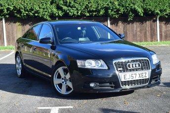 2007 AUDI A6 2.0 TDI S LINE 4d AUTO 140 BHP £3995.00