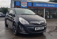 2012 VAUXHALL CORSA 1.2 LIMITED EDITION 3d 83 BHP £5295.00