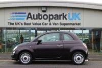 2014 FIAT 500 1.2 LOUNGE 3d 69 BHP £4395.00