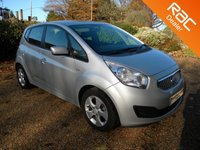 USED 2011 11 KIA VENGA 1.6 2 5d AUTO 124 BHP Air-Con, Alloys Wheels, Aux + USB Input