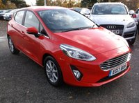 USED 2017 17 FORD FIESTA 1.5 ZETEC TDCI 5d 85 BHP High Spec Fiesta With Main Dealer History and a Year Until Its First MOT Is Due!